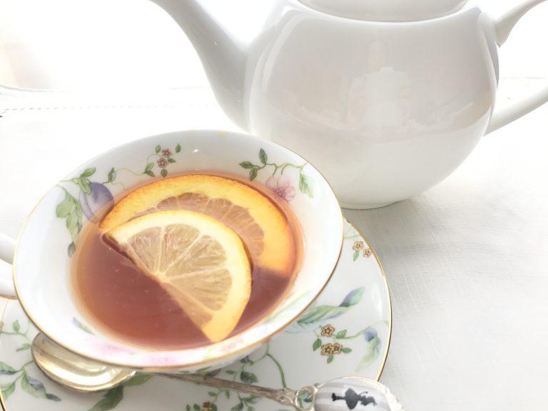 スリランカ紅茶の飲み比べとシトラスティー